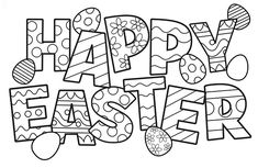 Free Printable Easter colouring pages for all ages to print and enjoy, allow the kids to get creative using these colouring pages.