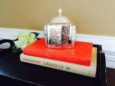 Silver Plated Godinger Jewelry Box Trinket Box by FelixVintageMarket