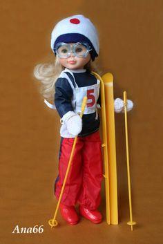 Nancy esquiadora modelo de 1976