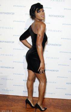 Keke Palmer dons single-sleeved velvet LBD at Primark store opening King Of Prussia Mall, Keke Palmer, Female Actresses, Patent Leather Pumps, Primark, Lbd, Beautiful Actresses, Bellisima, Celebrity Style