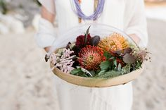 Today we have a shoot to inspire the bohemian bride that isn't afraid of a bit of color! We love the way photographer Eulanda Shead blended the chic simplicity of with bold styling and. Bohemian Bride, The Chic, Bridal Style, Table Decorations, Wedding Dresses, Bordeaux, Moroccan, Inspiration, Color