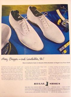 Shoes for Men: History and Buying Guide Shoes Ads, Men's Shoes, Dress Shoes, 1940s Fashion, Mens Fashion, 1950s Shoes, Fashion Shoes, Fashion Outfits, Saddle Shoes