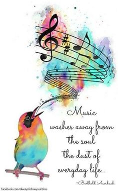 Music washes away..: