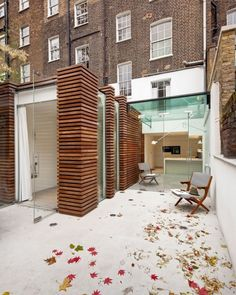 Terrace extension by DOSarchitects