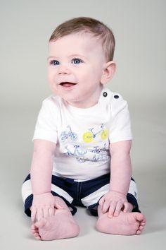1f552b68f Jean Bourget Baby Boy Striped Shorts