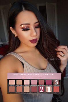 Modern Renaissance Eyeshadow Makeup Tutorial Easy Step by Step Ideas Looks Red Pink Dramatic - Poshiroo.com