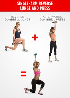 10 Strength Moves That Are Better Together - Photo by: Photos by Beth Bischoff http://www.womenshealthmag.com/fitness/strength-training-moves