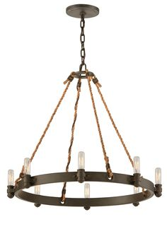 Pike Place 8 Light Chandelier | Wayfair