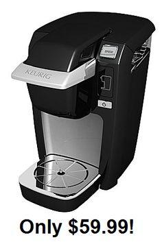 Keurig K10 Mini Plus Coffee Brewer $59.99 (Reg $99.99) - http://couponingforfreebies.com/keurig-k10-mini-plus-coffee-brewer-59-99-reg-99-99/