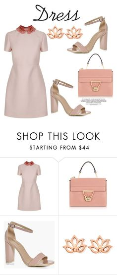 """488"" by meldiana ❤ liked on Polyvore featuring Valentino, Coccinelle, Boohoo and ChloBo"