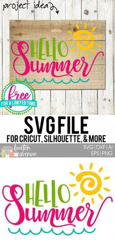 Pin On Summer Svg Files Silhouette And Cricut Cutting