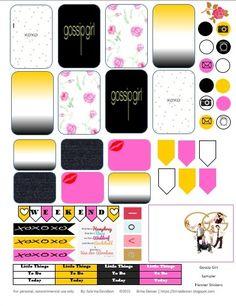 Sabrina Davidson: Gossip Girl Planner Sticker Sampler
