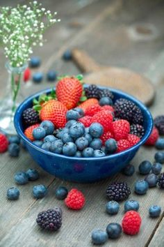 Goji berries, Acai berries, blueberries, strawberries, and all other types of berries are easy snack foods that are high in phytonutrients and antioxidants. There's no reason why a few can't be nibbled every day. http://www.naturalnews.com/039534_superfoods_healing_organic.html