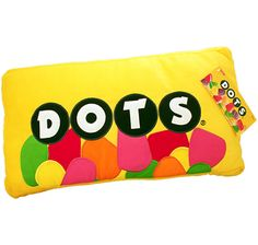 Mini Plush Dots Candy Pillow I Candy Warehouse Candy Pillows, Food Pillows, Cute Pillows, Fluffy Pillows, Diy Pillows, Throw Pillows, Candy Room, Pillos, Online Candy Store