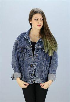 Vintage Lee Denim Jacket X-16