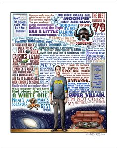 I'm Not Crazy- Sheldon Cooper/Big Bang Theory tribute- signed print