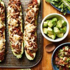 Taco-Stuffed Zucchini - EatingWell.com