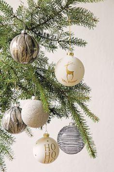 Warme kleuren in je kerstboom #kerst #intratuin