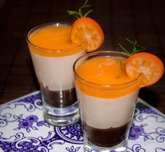Uma deliciosa combinação de sabores nessa Verrine de Chocolate com Tangerina. É sucesso garantido!