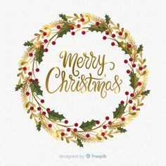 Christmas watercolor vectors, photos and psd files Diy Christmas Cards, Christmas Quotes, Christmas Design, Christmas Wishes, Christmas Pictures, Christmas Art, Christmas Greetings, Holiday Cards, Christmas Wreaths