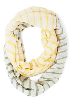 Infinity scarf in #yellow and green http://rstyle.me/n/gudc9r9te