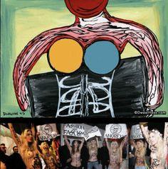 Dwaalhaas.nl Kunst uit Eindhoven : Femen against anorexic fashion industry