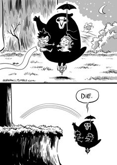 Sorry for such a stupid Totoro joke. But i can't stop myself from drawing…