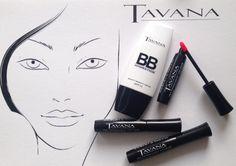 Kollektion der neuen Kosmetik-Marke Tavana