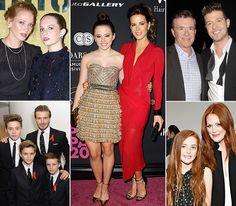 Celebrities and Their Look-Alike Kids - Us Weekly