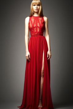 red dresses | ... Swift Red Evening Dress from Elie Saab | Beautiful Fashion Dresses