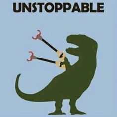 Haha!   #awesome #dinosaur #Unstopable #Rawr