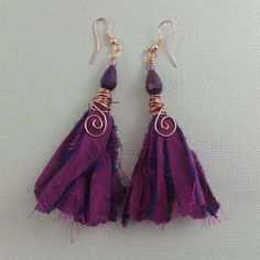Hey, I found this really awesome Etsy listing at https://www.etsy.com/au/listing/263853892/deep-purple-recycled-sari-silk-ribbon