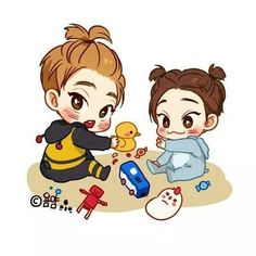 Xiuchen fanart. I'm going to have a heart attack