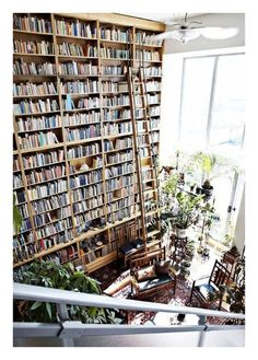 home library office & home library . home library ideas . home library design . home library cozy . home library office . home library ideas small . home library decor . home library ideas cozy Future House, My House, Ideal House, Girl House, Dream Library, Future Library, Beautiful Library, Beautiful Wall, Belle Library