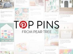 What's hot on pinterest? We're sharing Pear Tree's top pins just for you!