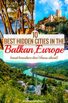 Are you planning a trip to the Balkans anytime soon? Then you should definitely check out our post for some Balkan travel inspiration. As someone who spend most of hist life in the Balkans, I can confirm that these are some of the most beautiful places on the Balkan Peninsula! Europe Travel Guide, Europe Destinations, Travel Guides, Holiday Destinations, Best Places To Travel, Cool Places To Visit, Eastern Europe, European Travel, Solo Travel