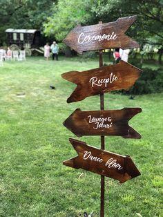 Atelier Dual #signs #wedding #floraldesign #rental Atelier Design, Wedding Direction Signs, Wedding Directions, Design Floral, Directional Signs, Decoration, Decor, Dekoration, Decorations