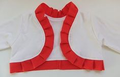 Free pattern and turorial - shrug for little girls