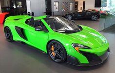 Eye Candy: Mantis Green McLaren 675LT Spider