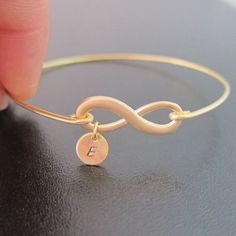 Infinity Bracelet, Personalized Gift, Wedding Gifts for Bridesmaid, Monogram Bridesmaid Gift, New Bride Gift From Groom, Unique Gift for Her on Etsy, $19.95