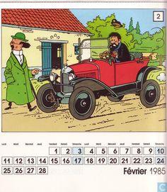 Bandes dessinées - Tintin - 60 jaar Citroën