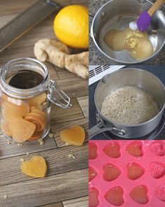 Homemade Honey Lemon Cough Drops - Fit as a Mama Bear - Homemade honey lemon throat drops are gluten free and easy to make. A natural cold and flu remedy to aid a sore throat, homemade cough drops - Cough Remedies, Herbal Remedies, Bloating Remedies, Chutney, Cooking With Turmeric, Honey Lemon, Natural Health Remedies, Real Food Recipes, Just In Case