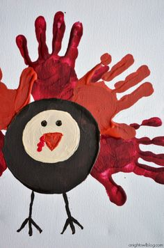 Fun and easy craft to do with your kids this Thanksgiving! Too cute! #thanksgiving #craft #kids