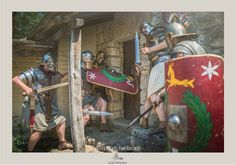 Iudea, 70AD. Legio XXI Rapax - historical reenactment of roman legion. Rekonstrukcja historyczna rzymskiej armii.