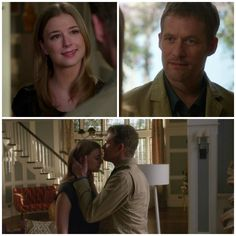 Revenge - Serie TV - look - style - estilo - inspiration - inspiração - moda - fashion - dad - father (pai) - daughter (filha) - love (amor) - inspiración - padre - hija - Amanda Clarke - Emily Thorne (Emily VanCamp) - David Clarke (James Tupper)