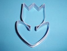 Hallmark Lavender Plastic Tulip Flower Shaper Cookie Cutter Spring Easter Cookie Cutter