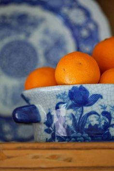 Conexão Décor  www.conexaodecor.com  Azul e branco na decoração, no blog da Conexão Décor