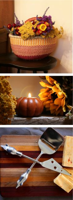 Use warm, natural colors in your Fall decorating   to create a cozy place to host and hibernate all winter!