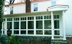 Vixen Hill Modular Screened Porch System can be installed in a single day. Use our online software to design a new porch or retrofit an existing one. Screen Porch Systems, Sleeping Porch, Wooden Shutters, Wrought Iron Gates, Screened In Porch, Garden Structures, Porches, Gazebo, Exterior