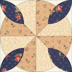 Country Rose Quilts: Wiener Walzer - Block 17